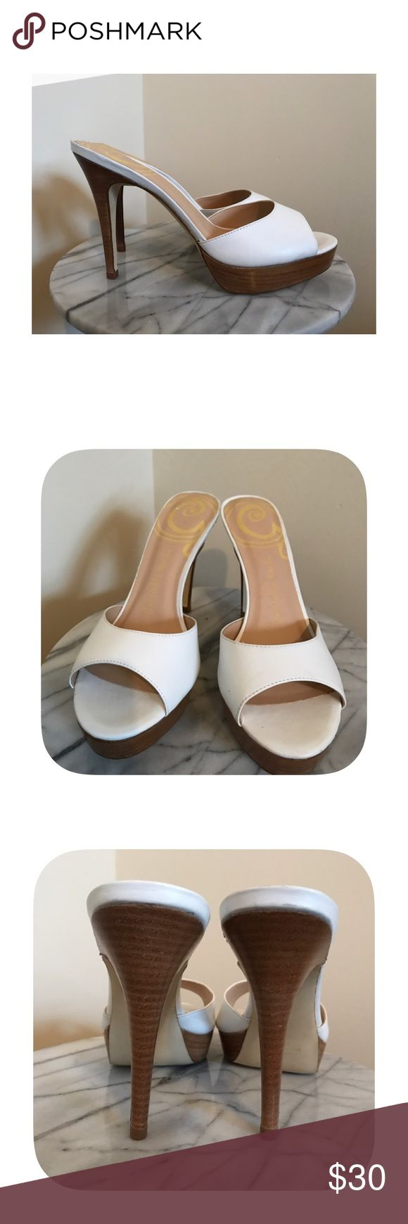 "⭐️ Gabriella Rocha white heeled sandal 10 Very lightly worn Gabriella Rocha size 10 white sandals with 4.5"" heel. Gabriella Rocha Shoes"