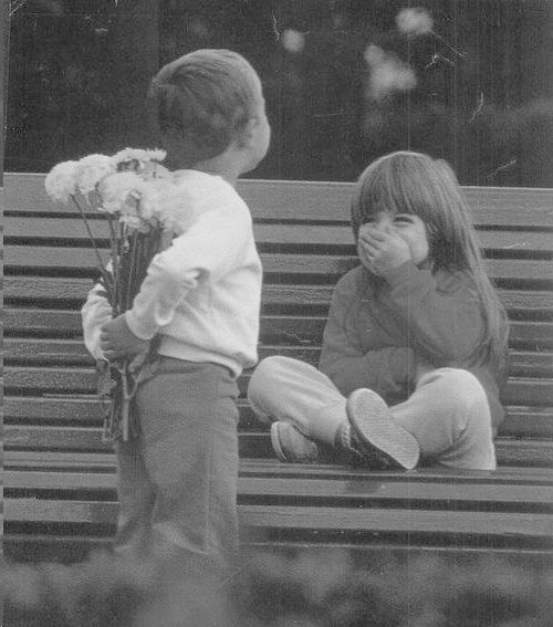 this looks like me and my brother when we were little. weird. but very, very cute:)