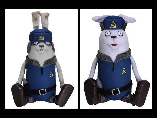 Usavich Rabbit Plush Doll Boris and Kopchev Set Japan MTV New Police Dream Rush | eBay