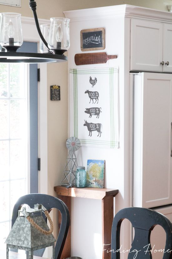 Easy Summer Kitchen & Gallery Wall Updates - Finding Home