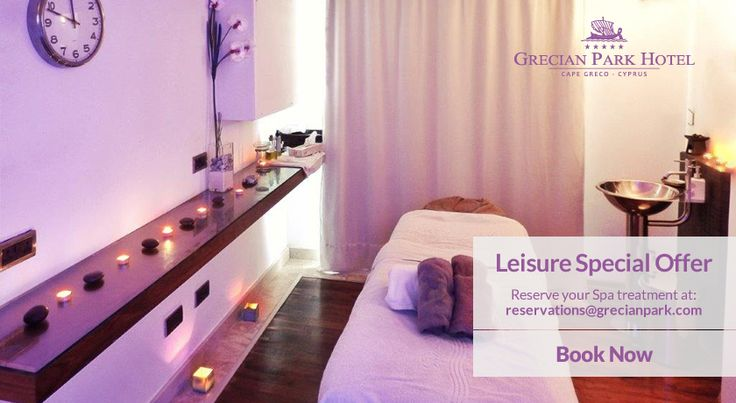 Combine our Leisure Special with the long Green Monday weekend on March 12-14 and get a complementary 20-minute back massage. Book now online! http://bit.ly/1TIrTKp #GrecianPark #Protaras #CapeGreco #Cyprus #Offer #Spa #Wellness #Wellbeing #Relaxation