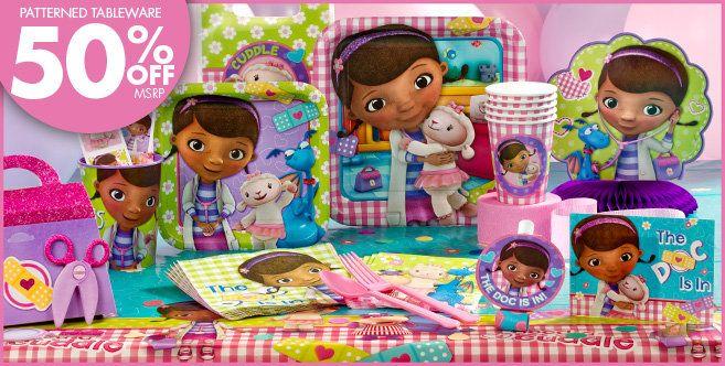 Doc McStuffins Party Supplies - Doc McStuffins Birthday - Party City