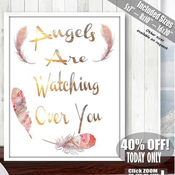 Guardian Angel Print Guardian Angel Guardian Angel Gifts