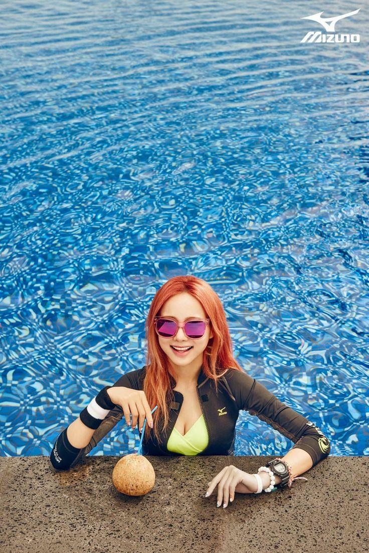 Solji - EXID - Mizuno S/S 2015 | Solji | Pinterest | Kpop ...