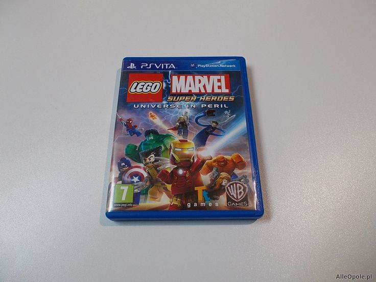 "LEGO Marvel Super Heroes - GRA Ps Vita - Sklep ""ALFA"" Opole 373 - AlleOpole.pl (Opole ul. Sieradzka 3)"