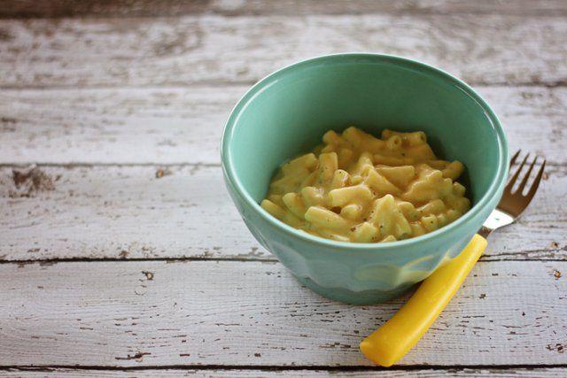 Delicious dinner: Sneaky macaroni cheese