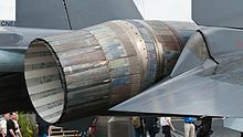 Su-35 Thrust vectoring nozzles