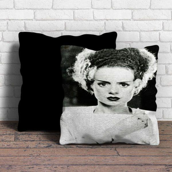 A Beautiful Bride Of Frankenstein Pillow Beautiful
