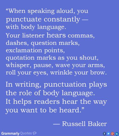 Words of wisdom from Russell Wayne Baker. www.writestuff.fi