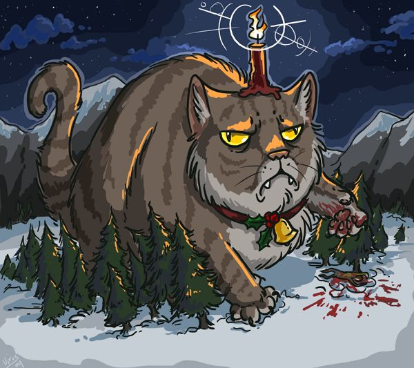 There is a charming old bit of folklore from the land of ice and volcanoes about a giant cat that, come Christmas time, will eat anyone who does not possess a new article of clothing. Read more