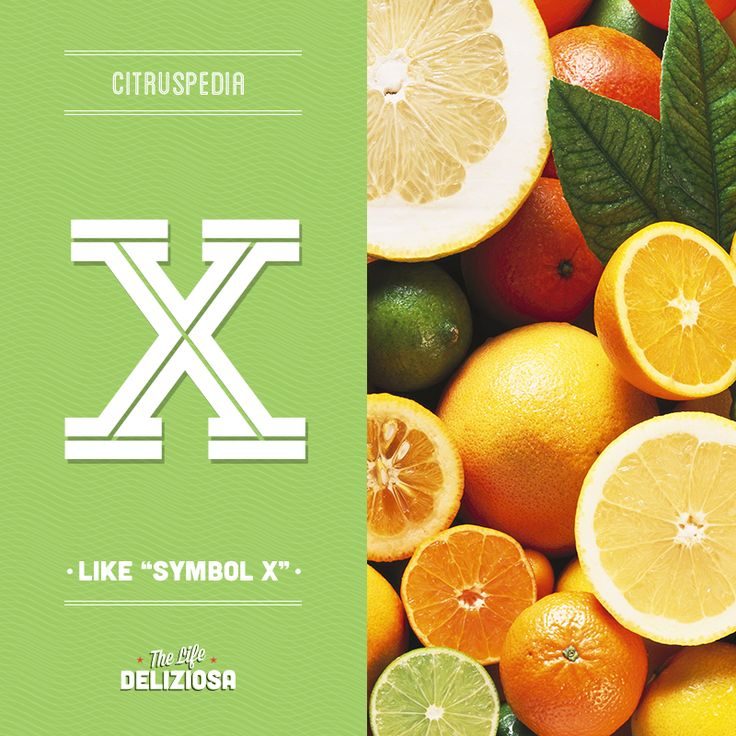 Find out what the symbol X means in the world of citrus fruits with our Citruspedia. sanpellegrinofruitbeverages.com