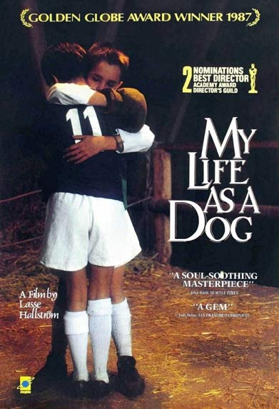 My Life as a Dog   Lasse Hallstrom  Wonderful film very funny but not very doggy despite the title and director: Movie Posters, Movie Buckets, My Life, Dramas Film, Stars Film, Fav Film, Dogs Lass, Favorite Movie, Favorite Film