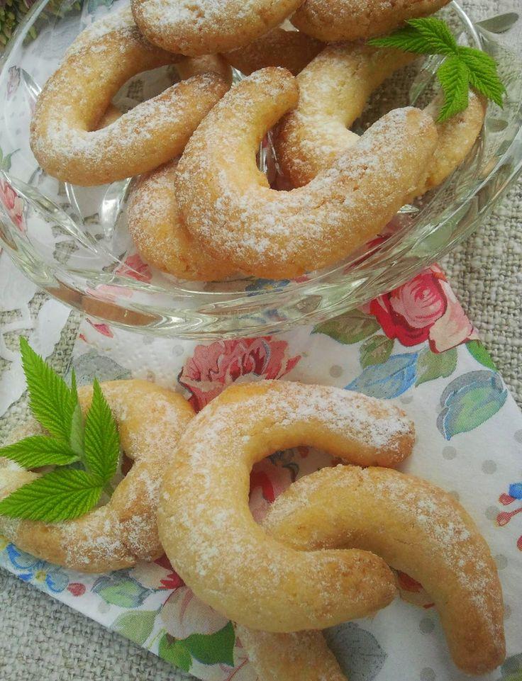 Domowa Cukierenka - Domowa Kuchnia: rogaliki kokosowe