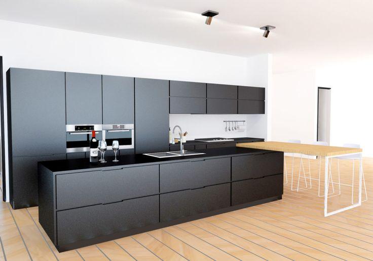 Modern Kitchen with open concept - https://interiordesign.io/modern-kitchen-with-open-concept/