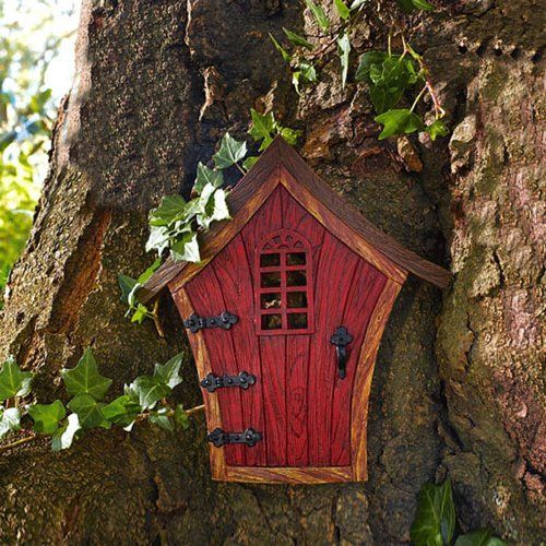 17 best images about fairys on pinterest fairy garden for Gnome doors for trees