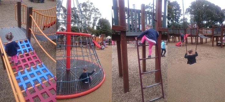 Montrose Community Playground reviewed on Melbourne Munchkin blog