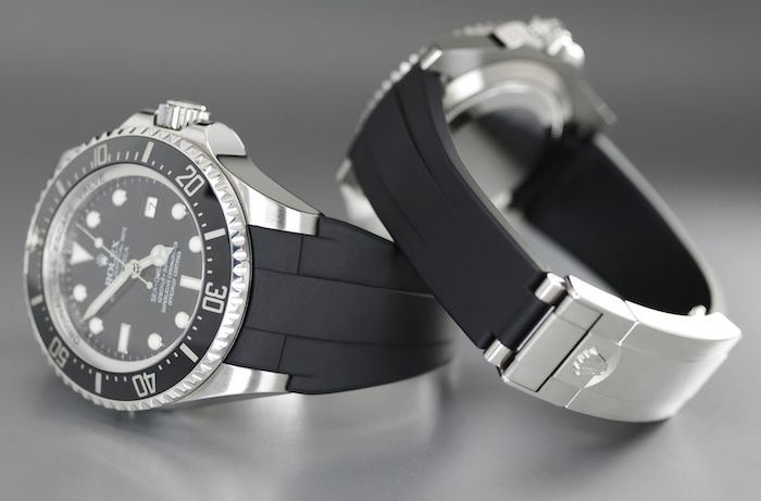 Rolex Deepsea with Rubber B strap
