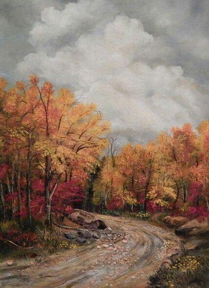 "#ASI artist   Dimitrina Kutriansky   ""On a Rainy Day"". Oil on canvas"