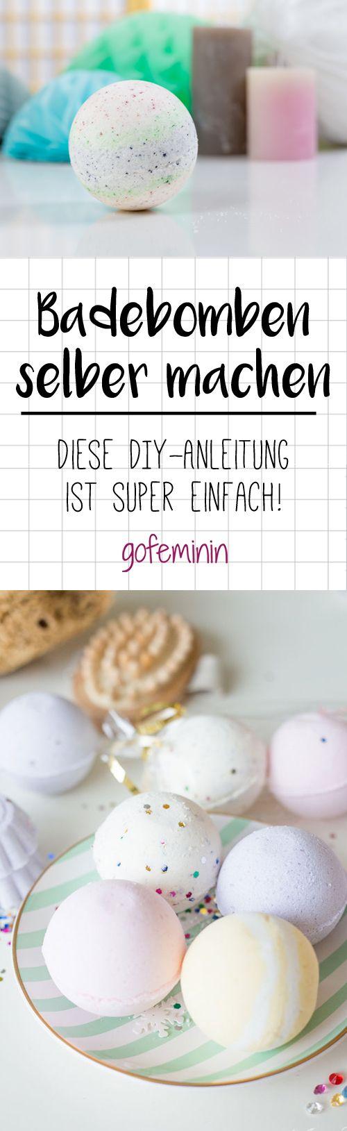 DIY Badebombe: Wir zeigen wie's schnell und einfach geht! – gofeminin.de