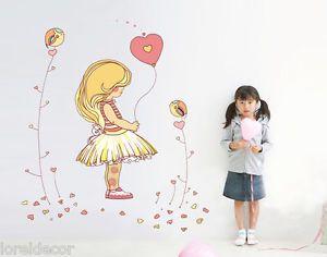 Hermosa pegatina infantil dise ada para decorar la for Pegatinas habitacion infantil