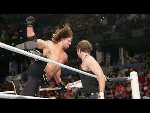 WWE Raw June 27th 2016 highlights HD - Aj styles vs Dean ambrose Highlights