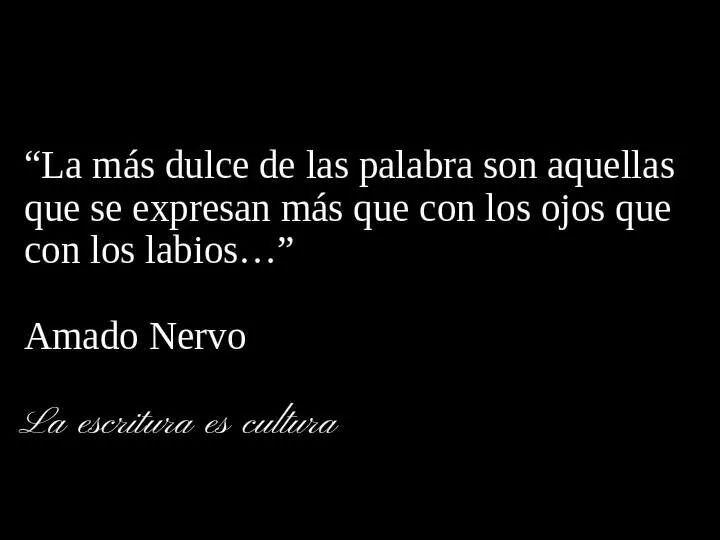 Amado Nervo.