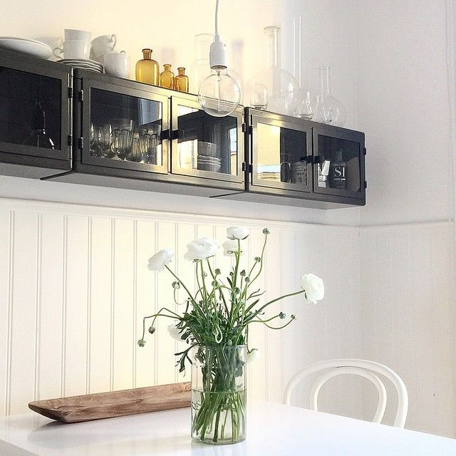 Ikea Raskog Wall Cabinets In Kitchen By Fouremptywalls