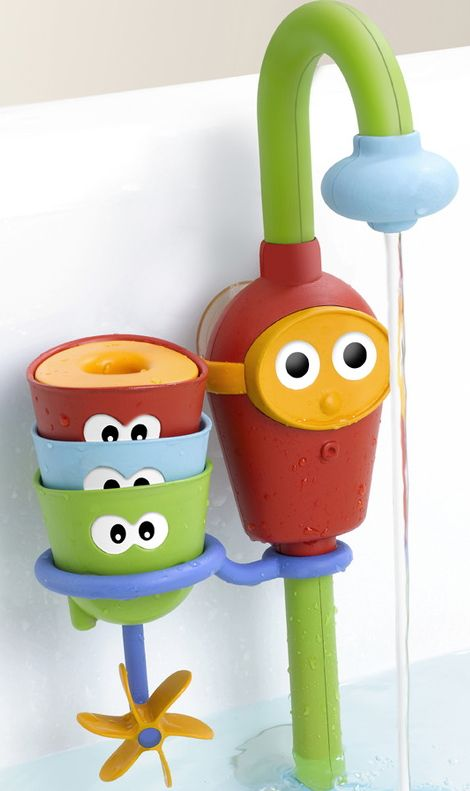 Best bath toy EVER! I can't get Noah out of the tub! Yookidoo Fill 'n Flow.