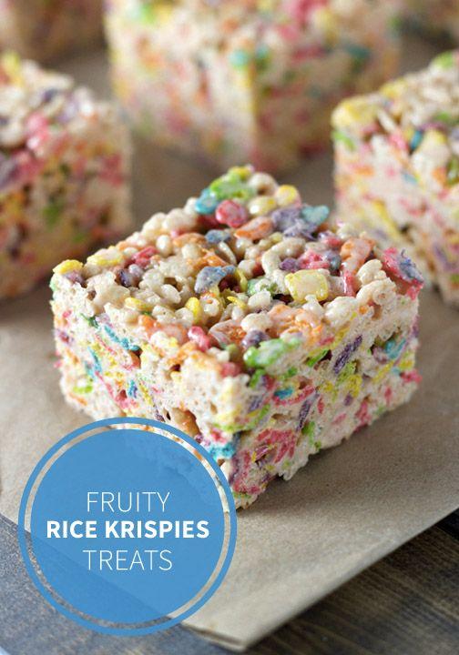 Super Fruity Rice Treats