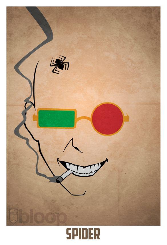 Spider Jerusalem by Andres Romero via Geek-art