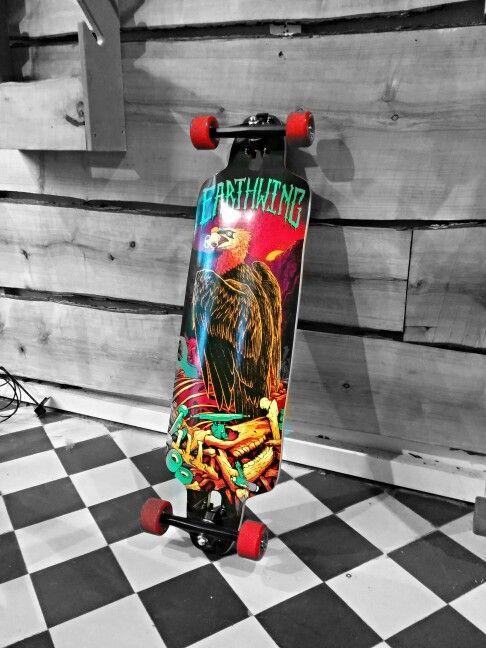 "Earthwing Skateboards - The Scavenger 35"", Kahalani Cast Trucks, Remember Lil' Hoots 65mm"