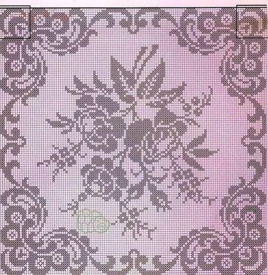 Kira crochet: Crocheted scheme no. 485