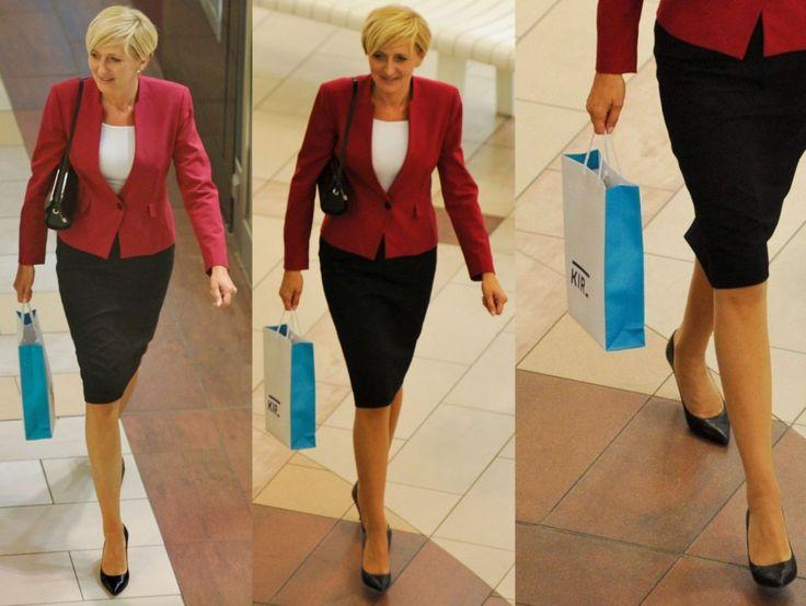 Agata Duda na zakupach