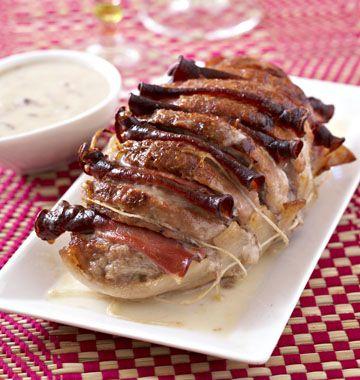 Rôti de veau orloff - les meilleures recettes de cuisine d'Ôdélices