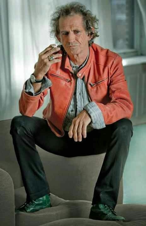 Keith Richards.or  Jack Sparrow's dad