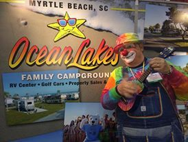 Ran Into Rainbow The Clown At The Tampa Rv Show Myrtle