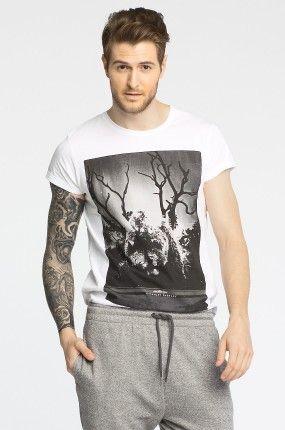 Medicine - T-shirt Boho kolor biały RS14-TSM715 - Medicine – odzież męska i damska – oficjalna strona i sklep internetowy