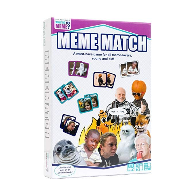 Meme Match By What Do You Meme What Do You Meme Matching Cards Card Games