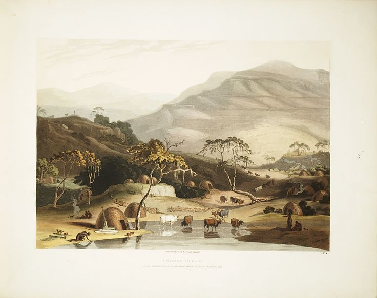Samuel Daniell was appointed artist for a British expedition into the Cape interior in 1801. He sketched animals from life in their natural habitats, and was praised for his accuracy and attention to detail. Upon his return, Daniell used his field sketches to create and publish these aquatints.,  Image number:SIL28-276-02