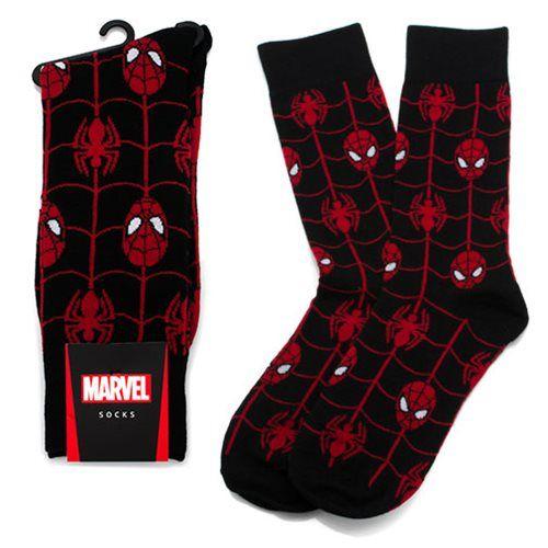 Spider-Man Web Black Socks