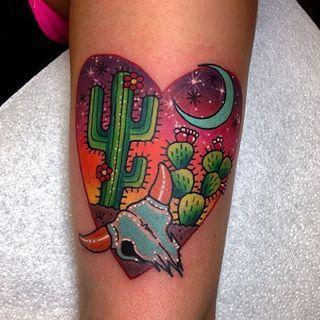 desert tattoo Roberto Euán