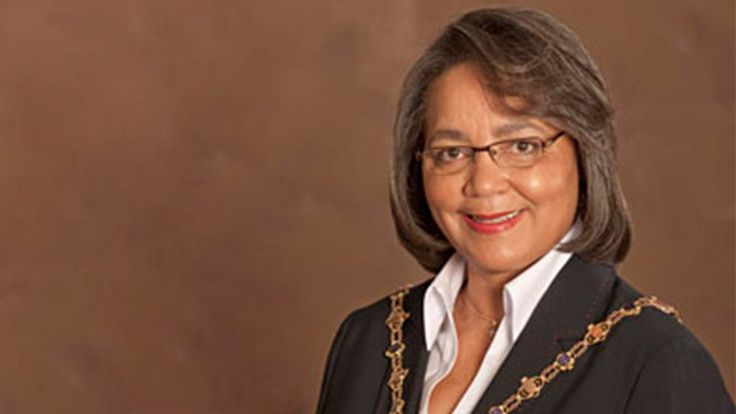 Patricia De Lille Drum rolls as De Lille launches her mayoral campaign.