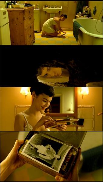 Amélie (Le Fabuleux Destin d'Amélie Poulain), 2001 (dir Jean-Pierre Jeunet)    By Ladydana