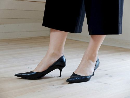 pumps with pointed toes makes you look taller