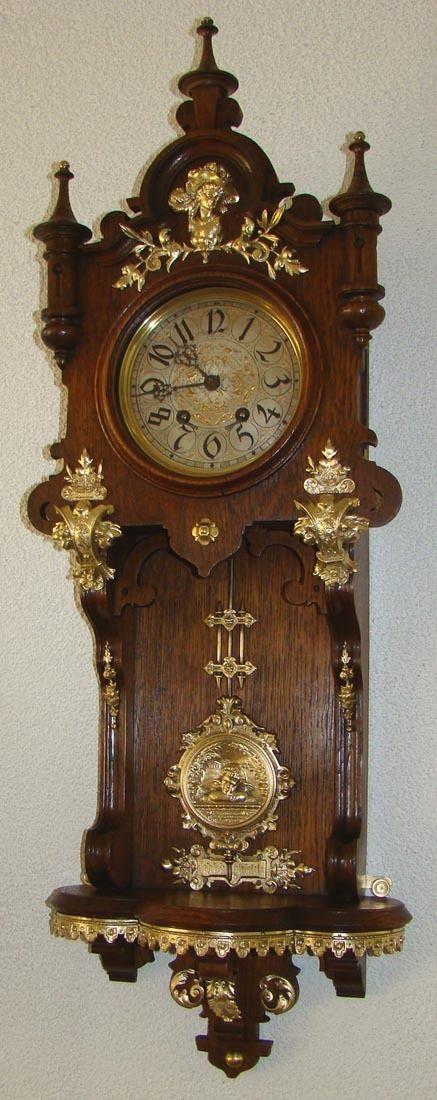 156 Best Antique Wall Clock Images On Pinterest Vintage