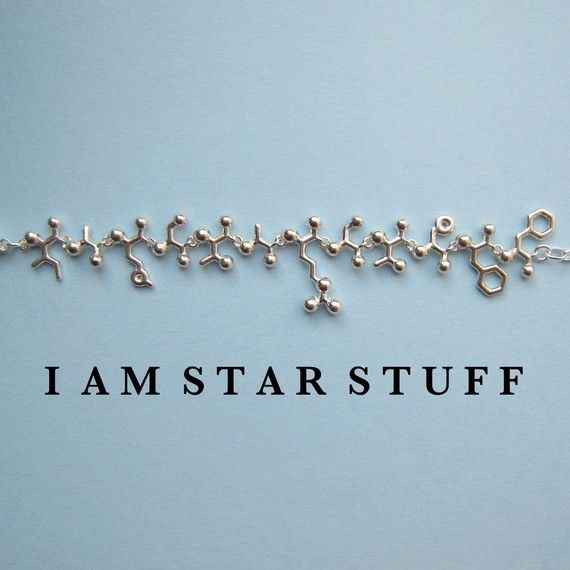 Mad Scientist challenge  I AM STARSTUFF necklace by molecularmuse, $270.00