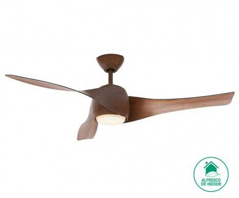 Ceiling Fan with Light for Upstairs TV Area - Artemis from Beacon Lighting