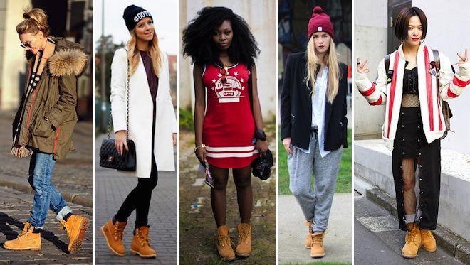 timberland filles