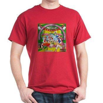 Gottlieb® Ace High Pinball Machine T Shirt