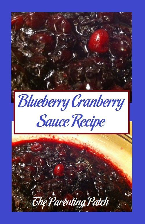 Blueberry Cranberry Sauce Recipe